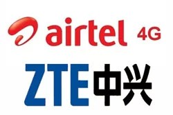 ZTE to supply and manage 4G network for Bharti Airtel in Kolkata