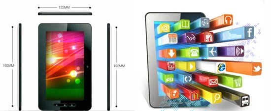 MicroMax Funbook Tablet Specification and Features