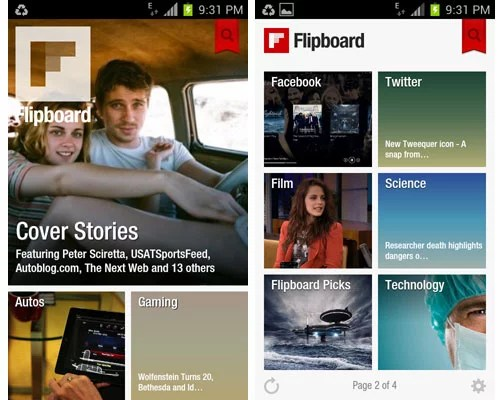 Flipboard beta app Comes to Android 'officially'