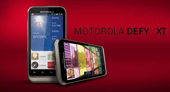 Motorola Defy XT - Dust and Water resistant Smartphone launched in India