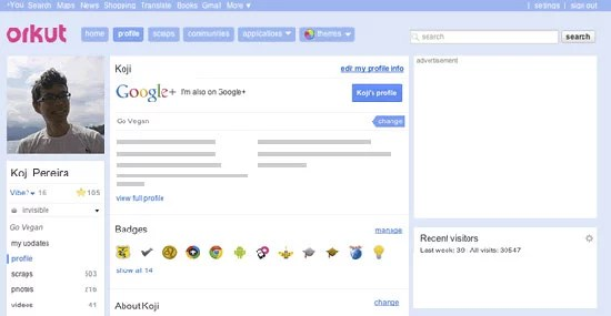 Google enables Sharing Google+ public posts on your Orkut ...