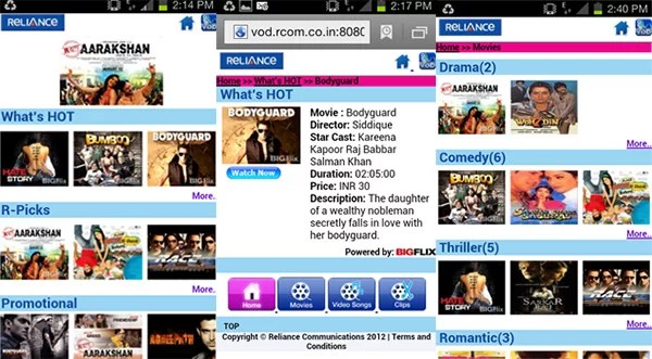 Reliance Communication Partners BigFlix to Offer Full-length Movie at Rs 30