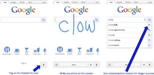 Google Handwrite Feature