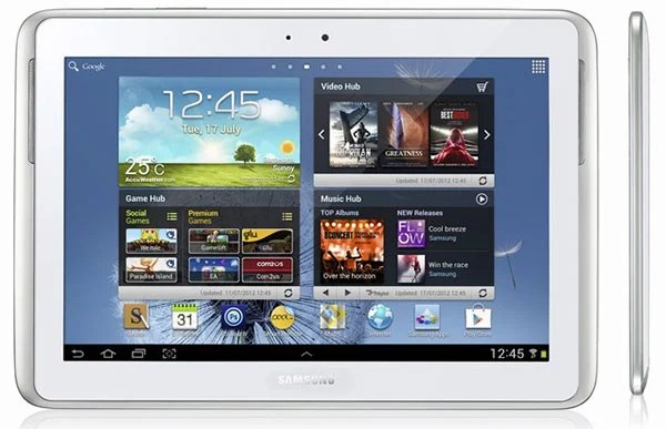 Samsung Galaxy Note 10.1 rolling out Globally this August