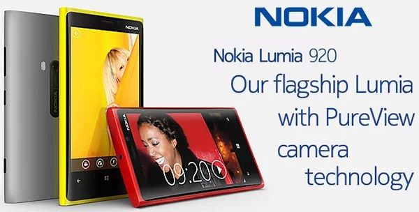 Nokia brings in first Windows Phone 8 smartphone the Nokia Lumia 920