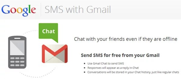 Google offering free SMS with Gmail - now support more Indian Telecom Operators