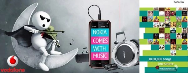 Nokia Partners with Vodafone India to bring Carrier Billing for Nokia Music Store