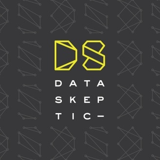 Logo for the Data Skeptic podcast