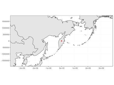 Zoom at level 2.5 on Kamchatka