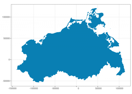 Simplifying geospatial features in R with sf and rmapshaper