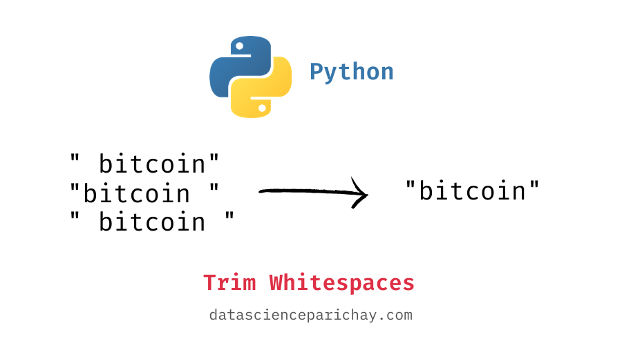 trim whitespace characters from python strings