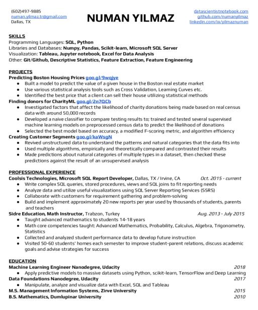Github Resume Reddit - Resume Examples   Resume Template