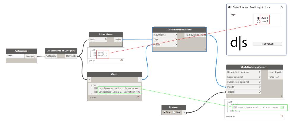 medium resolution of radiobutton slide input