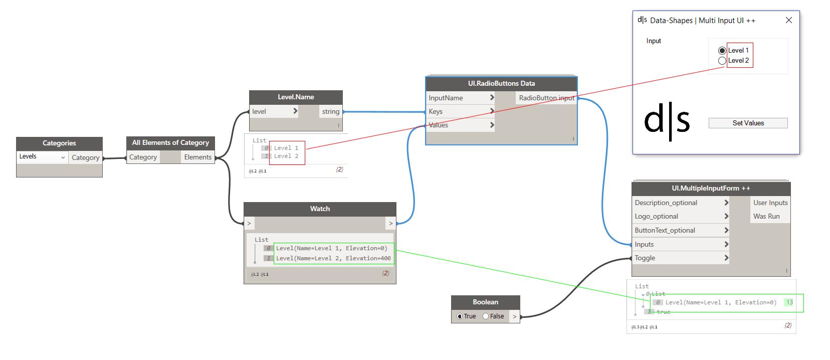 hight resolution of radiobutton slide input