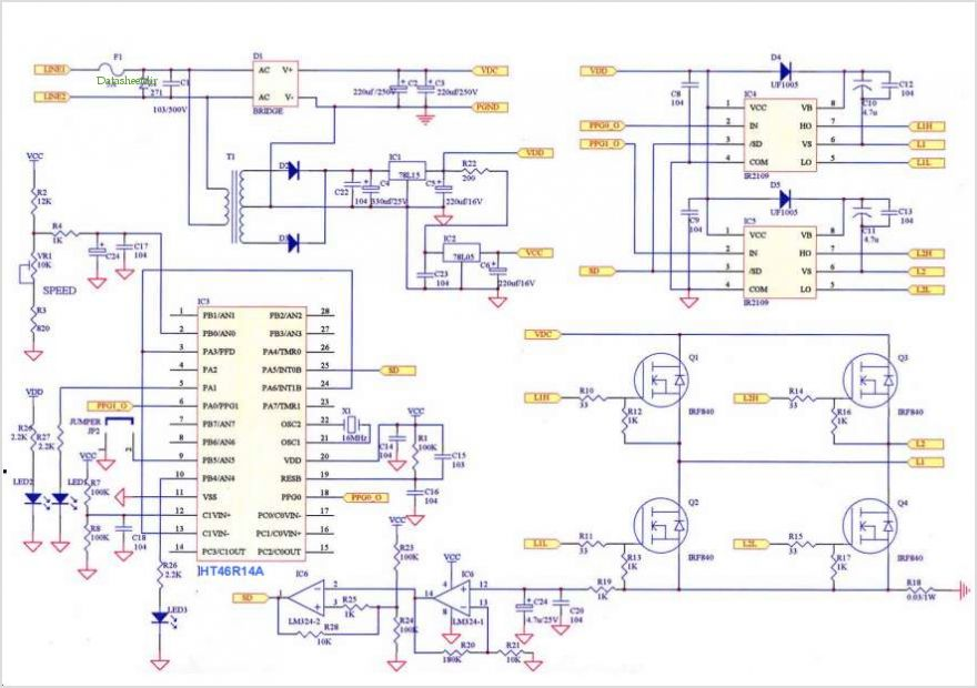 Single Phase Shaded Pole Motor Sd Control Schematic