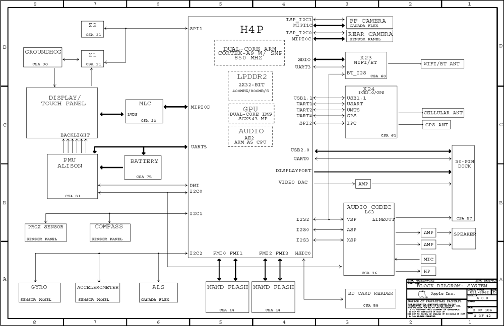 medium resolution of ipad 2 circuit diagram