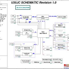 Intel Motherboard Circuit Diagram Pdf 1996 Civic Wiring Asus U35jc Block Data Sheet Gadget