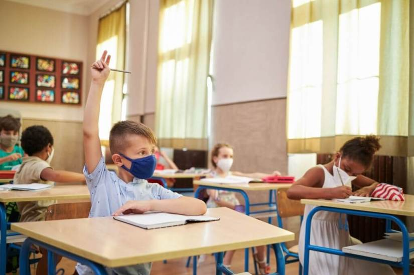 Parents Are Experiencing Relief & Anxiety When Kids Returned To School