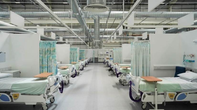 5 States Have Less Than 10% Of Icu Beds Left As Covid-19