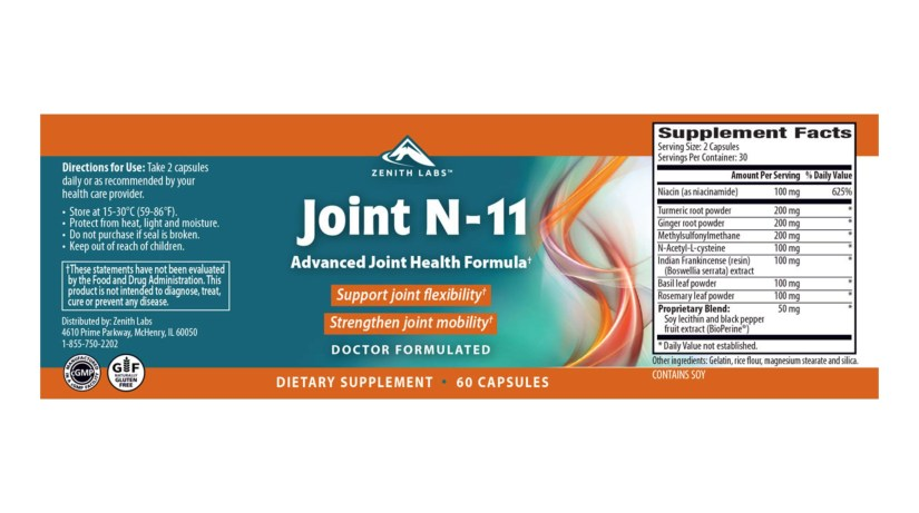 Joint N11 dosage
