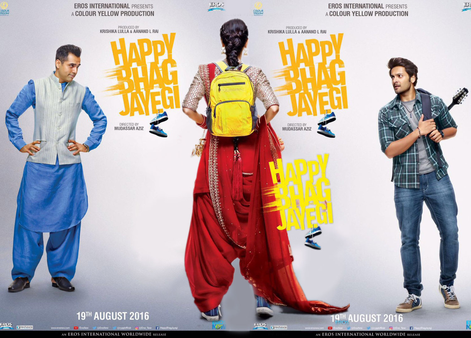 Image result for happy bhaag jayegi poster