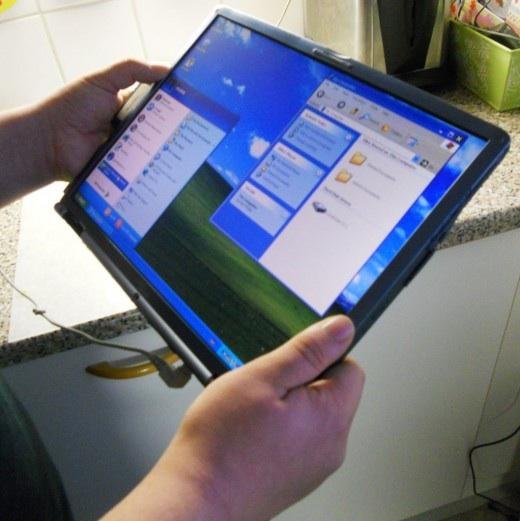 планшет из ноутбука