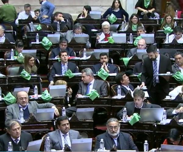 Aborto Argentina Congreso