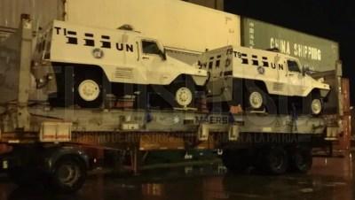 UN Camiones blindados Buenos Aires