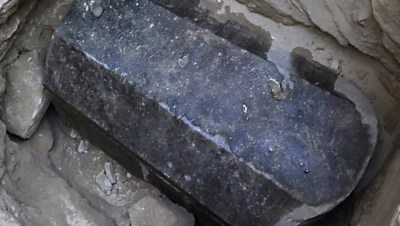 Zarcófago de granito - Egipto - Foto RT