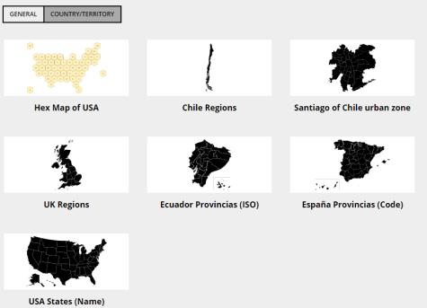 Power BI Synoptic Panel Maps