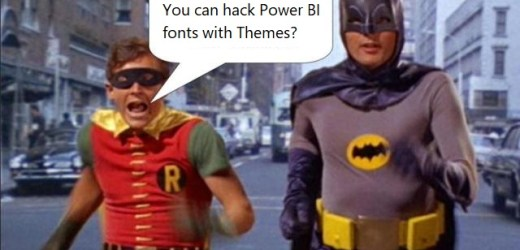 Control (and Expand!) Your Power BI Font Selection with Themes