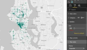 Display Points within a Distance Radius on a Power BI Map