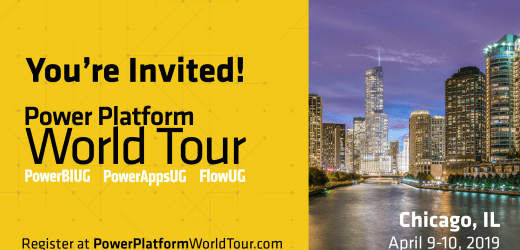 Map Demos from the Power Platform World Tour in Chicago