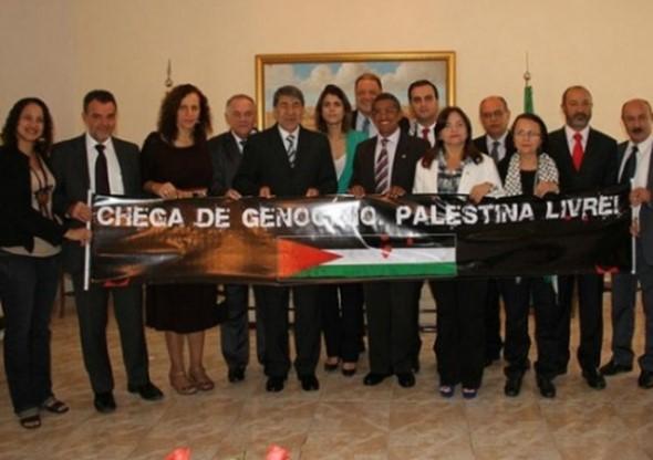 Partidos e políticos brasileiros que defendem o terrorismo do Hamas.