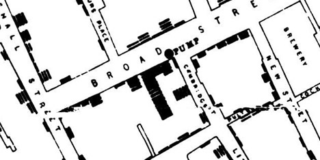DataViz History: The Ghost Map: The Story of London's Most