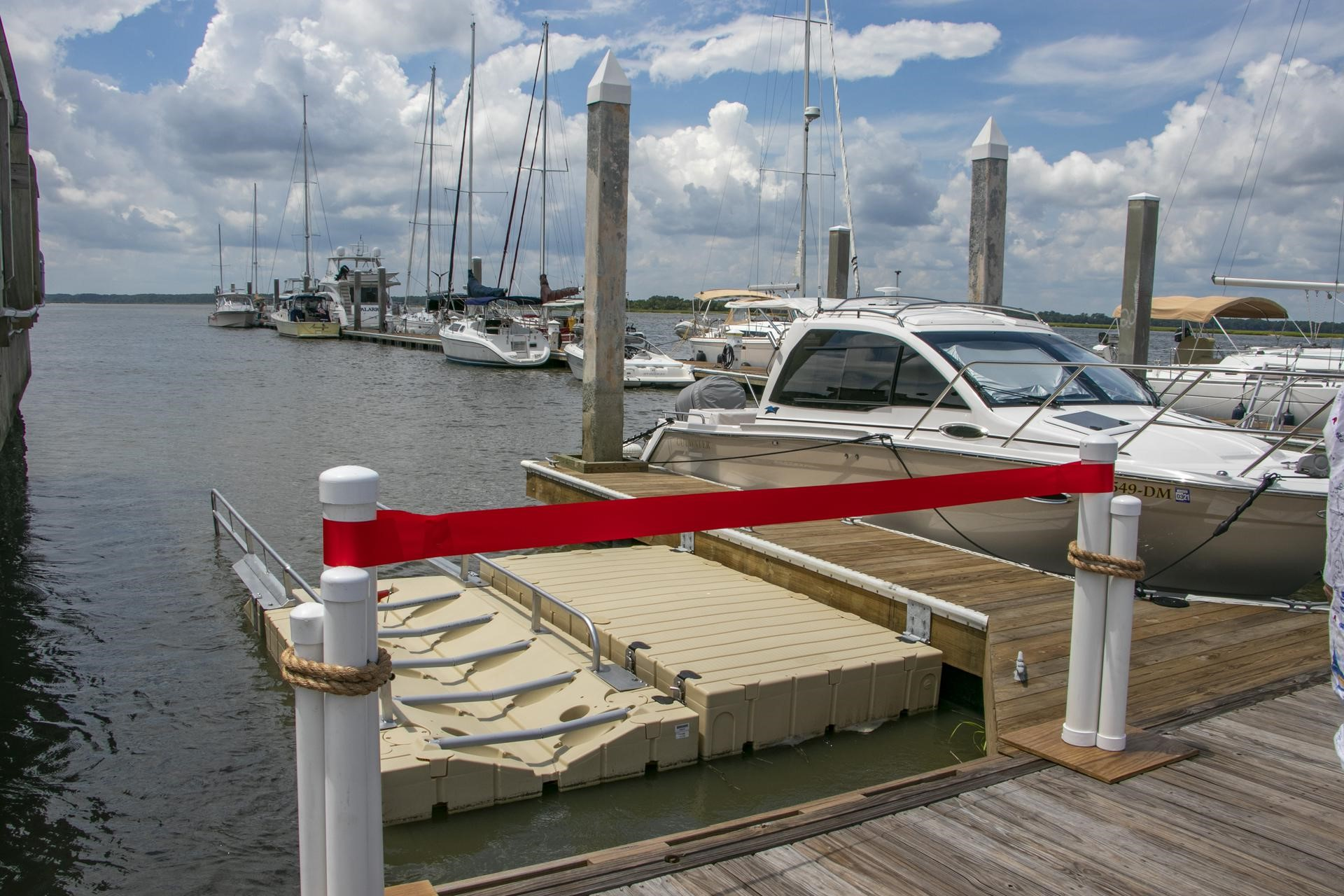 Dataw Island Marina Celebrates Opening of the Marina Kayak Launch