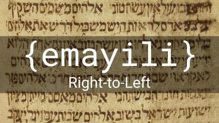 {emayili} Right-to-Left