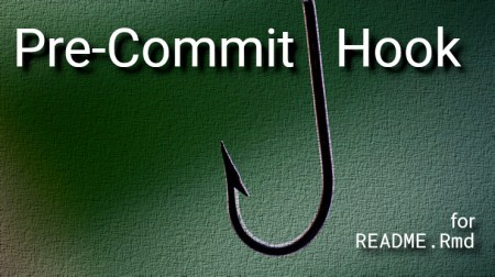 Pre-Commit Hook for Processing README.Rmd