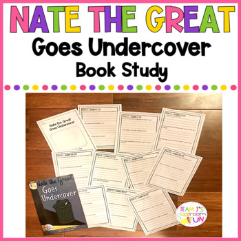 Book Study for Nate the Great Goes Undercover