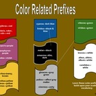 Color Related Prefixes