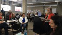 Elizabeth Cizinsky discussing Scale Up Milwaukee