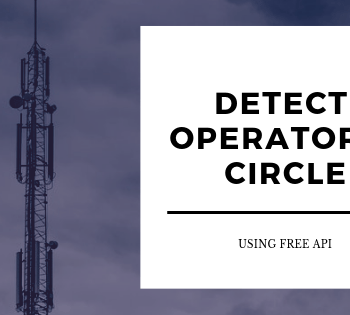 How to find operator and circle of mobile number?  Mobile Operator Finder API
