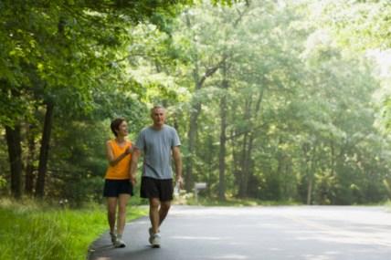 Mid Age Couple Hiking 86799735