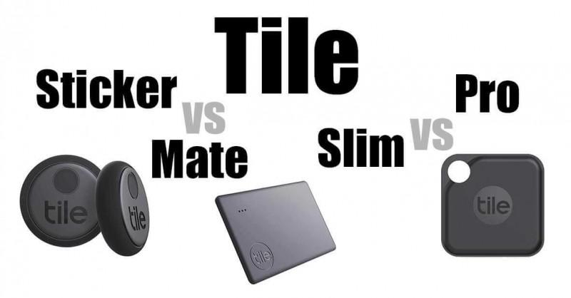 tile mate vs slim vs pro vs sticker