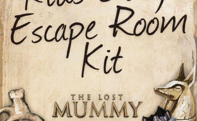 Diy Home Escape Room Download Print The Kit