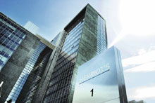 Regus Mietbüro Frankfurt, Herriotstrasse 1