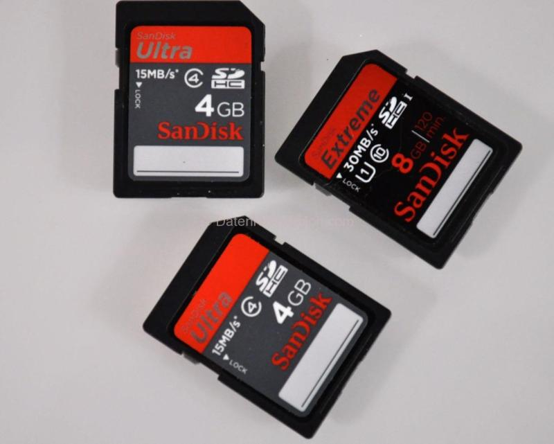 SanDisk SD Karten - ein Problem