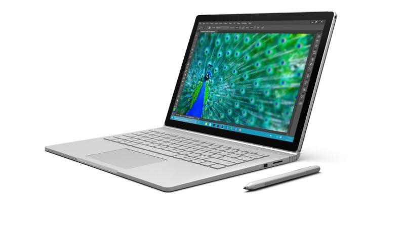 Surface Book. Bild: Microsoft