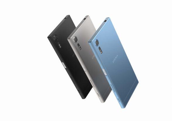 Das Sony Xperia XZs ist in 3 Farben verfügbar. Eisblau, Schwarz und Silber. Quelle: Sony Mobile