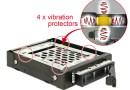 Festplatten Wechselrahmen mit Vibrationsschutz
